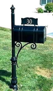 Mailbox Posts For Sale Quick Easy Mailbox Makeover Can Buy This