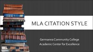 Mla Citation Examples 8th Ed Citation Guide Central Indiana