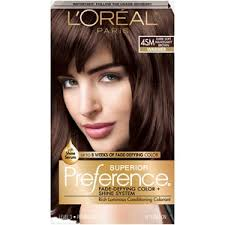 Loreal Hair Color Chart Prices Loreal Paris Superior Preference Fade Defying Hair Color