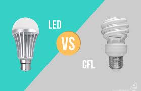 Energy Saving Light Bulbs Conversion Chart Led Versus Cfl Thegreenage