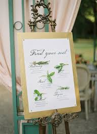 Seating Chart Ideas Idea Of The Week Wedding Seating Chart At First Blush