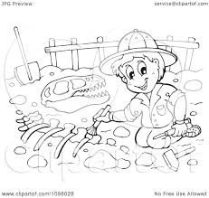 Small Picture Paleontologist Coloring Page Image Gallery HCPR