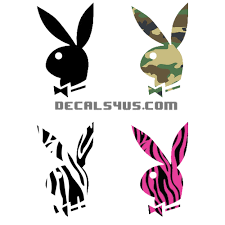 Playboy Bunny Decal | Quality, Affordable Car & Wall Decals.