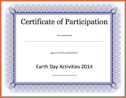 free printable survey template certificate of attendance template word free 5 certificate templates