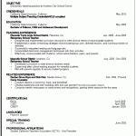... Resume Examples Educational Resume Example Free Sample Detail Resume  Education Format ...