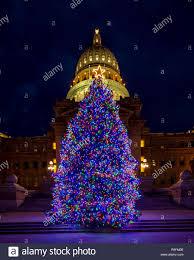 Light Fm Christmas Christmas Light Sparkle On The Christmas Tree On The Idaho