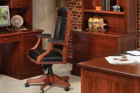Wooden office Elegant Wooden Office Chairs Countryside Amish Furniture Amish Office Furniture Shop Solid Wood Furniture At Countryside