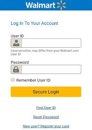 Walmart Credit Card Login Account Best Credit Cards