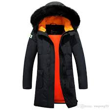 2018 2016 new russia winter jacket long mens trench grey duck down coat and jacket men long warm mens winter parka with hood from wuqiong95