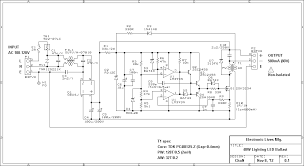 lighting led ballast and light head lighting led ballast led ballast circuit diagram