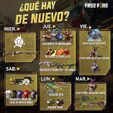 Todos os Próximos eventos desta Semana no Free Fire - Mania Free Fire