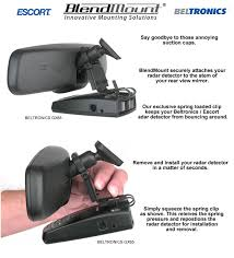 camaro radar detector blendmount escort radar detector mirror mount