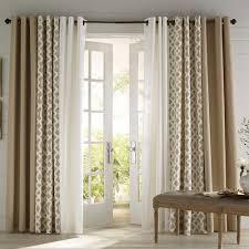 Curtain Design Ideas 3 coordinating panelspatio door