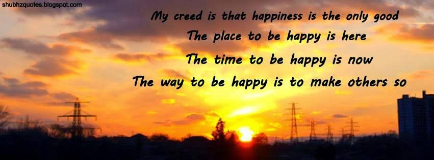 feeling happy quotes for facebook