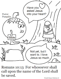 Halloween Coloring Pages For Church Within Christian - glum.me