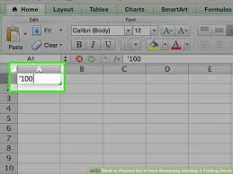 How To Prevent Excel From Removing Leading Trailing Zeros