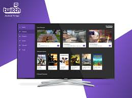 Android Design Inspiration Twitch Android Tv By Alyssa Smith Design Inspiration