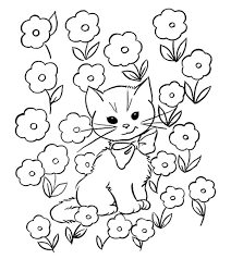 Kitten Color Chart Top 30 Free Printable Cat Coloring Pages For Kids