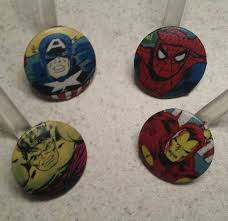 marvel superhero shower curtain hooks rings by craftydadandkids