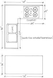 countertops dimensions