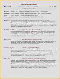 Ideal Resume Format Luxury Best Resume Format Doc Resume Puter
