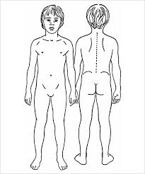 female body outline template body outline template 25 free sample example format download