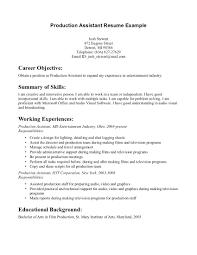 Television Researcher Sample Resume Resume Television Resume Examples Television Resume 18