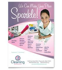Commercial Cleaning Flyers Cleaning Flyer Samples Faveoly
