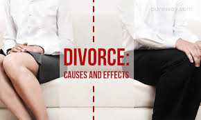 divorce essay causes and effects