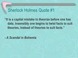 Sherlock Holmes Quotes Delectable Sherlock Holmes Quotes