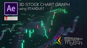 3d Chart Animation Stock Chart Animation Using Stardust After Effects Tutorial