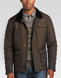 Pronto Uomo Brown Modern Fit Quilted Jacket - Men's Casual Jackets ... & Pronto Uomo Brown Modern Fit Quilted Jacket - Mens Casual Jackets, Outerwear  - Men's Wearhouse Adamdwight.com