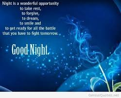Beautiful Quotes For Good Night Best of Nice Good Night Quote