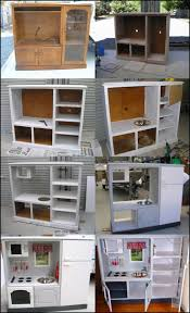 diy kitchen furniture. wonderful diy play kitchen from tv cabinets diy tv and plays furniture