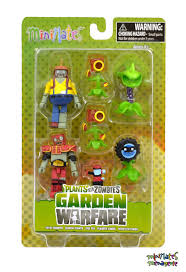 details about plants vs zombies minimates garden warfare series 2 box set