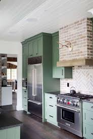 Green And Gray Interior Design Green Kitchens Ideas For A Lively Space