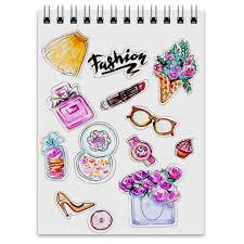 <b>Блокнот Spring Fashion</b> Vibes #2422947 от Xenya_95