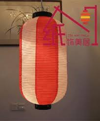 japanese paper lanterns korean food door head wax gourd paper lantern droplight hood restaurant hotel spa chandeliers