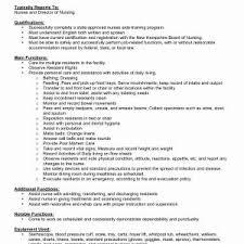 Registered Nurse Job Description For Resume Unique Elegant Staff ...