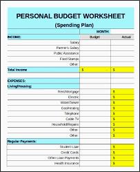 Sample Family Budget Plan 9 Family Budget Planner Outline Sampletemplatess
