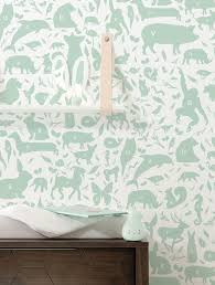Behang Abc Animals Groen 974 X 280 Cm Kek Amsterdam