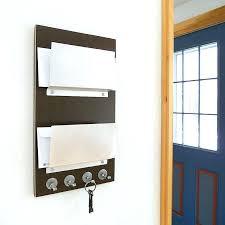 mail holder wall mount mail holder brown double mail organizer holder with brown wall mount mail mail holder