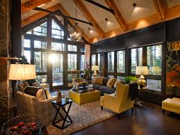 awesome rustic living room ideas amp decorating hgtv for rustic living room awesome large living room
