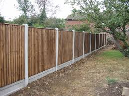 image of top garden fence panels