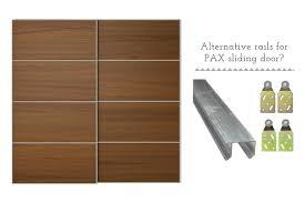 ers help alternative sliding rails for pax sliding doors