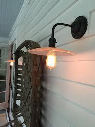 vintage farmhouse exterior lighting sconce