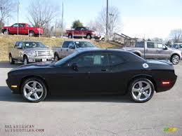 2009 Dodge Challenger R/T in Brilliant Black Crystal Pearl Coat ...