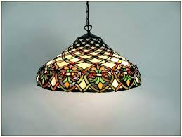 stained glass pendant lamp shades chandelier parts unique sty
