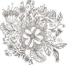 花 イラスト おしゃれ 白黒の検索結果 Yahoo検索画像