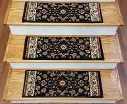 carpet stair treads. 153488 - traditional 2.2 x 9 inches polypropylene stair treads black carpet c